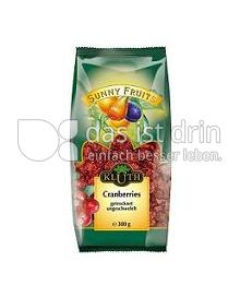 Produktabbildung: Sunny Fruits Cranberries 300 g