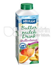 Produktabbildung: MILRAM Buttermilch Drink Multivitamin 750 g
