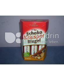 Produktabbildung: Choceur Schoko Knusper Riegel 180 g