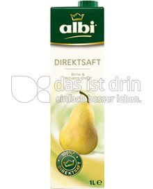 Produktabbildung: albi Direktsaftsaft Birne 1 l
