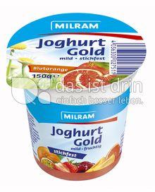 Produktabbildung: MILRAM Joghurt Gold Blutorange 150 g