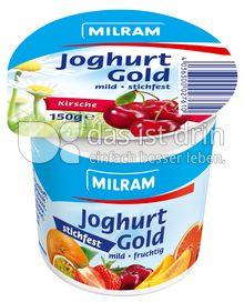 Produktabbildung: MILRAM Joghurt Gold Kirsche 150 g