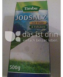 Produktabbildung: Timbu Jodsalz 500 g