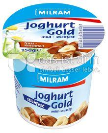Produktabbildung: MILRAM Joghurt Gold Nuss-Karamell 150 g