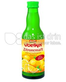 Produktabbildung: Voelkel Zitronensaft 0,2 l