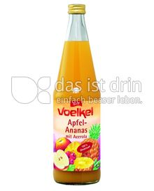 Produktabbildung: Voelkel Apfel-Ananas-Saft plus Acerola 0,7 l