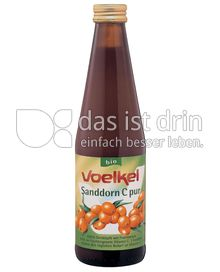 Produktabbildung: Voelkel Sanddorn C pur 0,33 l