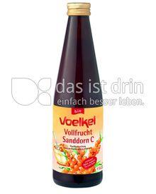 Produktabbildung: Voelkel Vollfrucht Sanddorn C 0,33 l