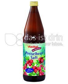 Produktabbildung: Voelkel Preiselbeersaft, Bio-Wildfrucht 0,75 l