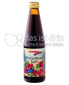 Produktabbildung: Voelkel Preiselbeersaft, Bio-Wildfrucht 0,33 l