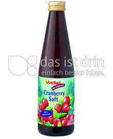 Produktabbildung: Voelkel Cranberry Saft 0,33 l