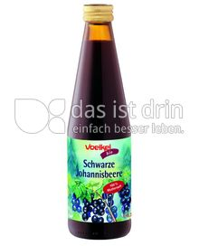 Produktabbildung: Voelkel Bio Schwarze Johannisbeere 0,33 l