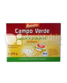 Produktabbildung: Campo Verde Demeter Sesam Knäckebrot 250 g