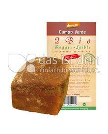 Produktabbildung: Campo Verde Demeter Roggen-Laible 650 g