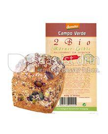 Produktabbildung: Campo Verde Demeter Körner-Laible 650 g