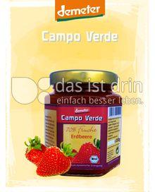 Produktabbildung: Campo Verde Demeter BIO-Fruchtaufstrich 70% Erdbeere 200 g