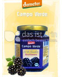 Produktabbildung: Campo Verde Demeter BIO-Fruchtaufstrich 70% Brombeere 200 g