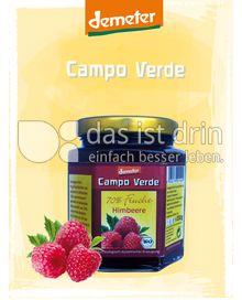 Produktabbildung: Campo Verde Demeter BIO-Fruchtaufstrich 70% Himbeere 200 g