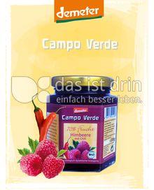 Produktabbildung: Campo Verde Demeter BIO-Fruchtaufstrich 70% Himbeere mit Chili 200 g
