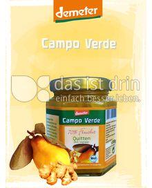 Produktabbildung: Campo Verde Demeter BIO-Fruchtaufstrich 70% Quitte mit Ingwer 200 g