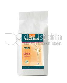 Produktabbildung: Campo Verde Demeter Dinkelvollkornmehl 1000 g