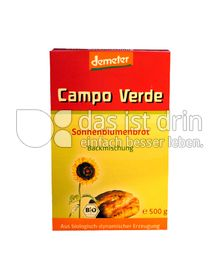 Produktabbildung: Campo Verde Demeter Backmischung für Sonnenblumenbrot 500 g