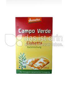 Produktabbildung: Campo Verde Demeter Backmischung für Ciabatta 500 g