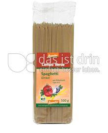 Produktabbildung: Campo Verde Demeter Dinkel-Spaghetti 500 g
