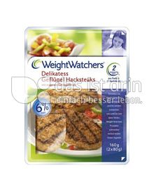 Produktabbildung: Weight Watchers Delikatess Geflügel Hacksteaks 160 g