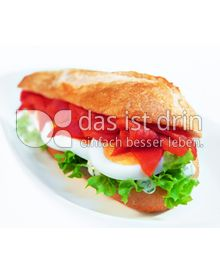 Produktabbildung: Nordsee Seelachs - Ei - Baguette 120 g