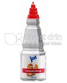 Produktabbildung: ja! Tafelsüße flüssig ja! 300 ml