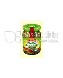 Produktabbildung: Hengstenberg Pfeffer Cornichons 212 ml