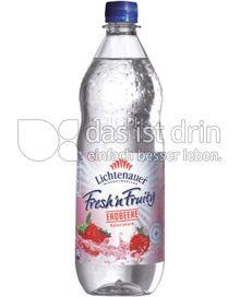 Produktabbildung: Lichtenauer Fresh'n Fruity Erdbeere 1 l