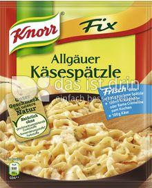 Produktabbildung: Knorr Fix Allgäuer Käsespätzle 30 g