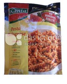 Produktabbildung: Kania Pasta Bolognese 167,5 g