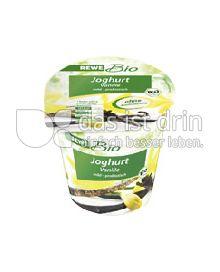 Produktabbildung: REWE Bio Vanillejoghurt mild 180 g