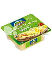 Produktabbildung: Hochland Sandwich Scheiben Bergkäse 175 g