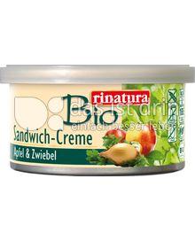 Produktabbildung: Rinatura Sandwich-Creme Apfel & Zwiebel 125 g