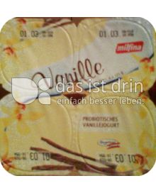 Produktabbildung: Milfina Probiotischer Vanille Jogurt 125 g