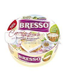 Produktabbildung: Bresso Cremig-frisch mit frischem Knoblauch 200 g