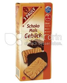Produktabbildung: 3 PAULY Schoko Mais Gebäck 150 g