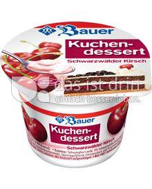 Produktabbildung: Bauer Kuchendessert Schwarzwälder-Kirsch 150 g