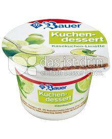 Produktabbildung: Bauer Kuchendessert Käsekuchen-Limette 150 g