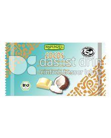 Produktabbildung: Rapunzel Cocos Weiße Schokolade 100 g