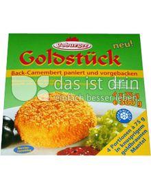 Produktabbildung: Coburger Backcamembert Goldstück 300 g