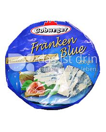 """Produktabbildung: Coburger Weichkäse """"Franken Blue"""" 250 g"""
