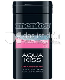 Produktabbildung: Mentos Gum Aqua-Kiss 18 St.