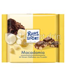 Produktabbildung: Ritter Sport Bio Macadamia 65 g