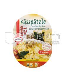 Produktabbildung: Schmid's No 1 Kässpätzle mit herzhaftem Schweizer Gruyère-Käse 350 g