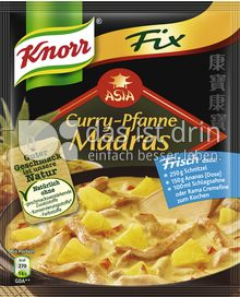 Produktabbildung: Knorr Fix Curry-Pfanne Madras 27 g